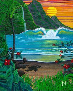 Pacific Treasures by Moses Hamilton