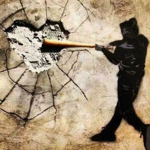 Banksy - heart breaking