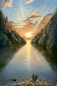 Tide of Time, Vladimir Kush