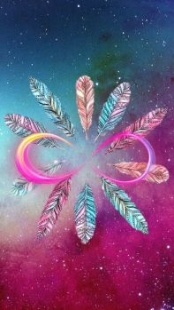 feather-infinity-galaxy-unknown-artist