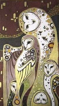 gustav-klimt-reproduction-owls