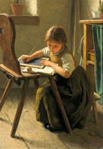 the-homework-simon-glucklich-1863-1943