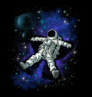 astronaut - another unknown artist