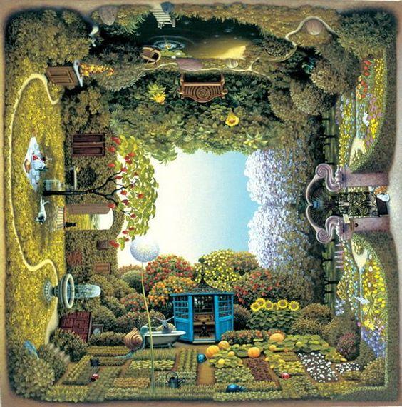 Jacek Yerka - Gardens