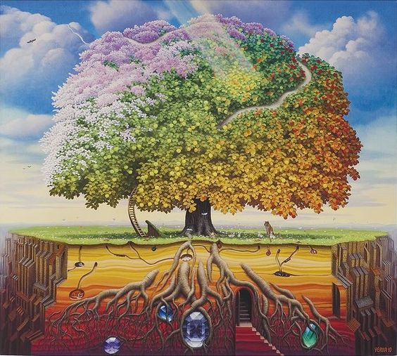 Apple Tree - Jacek Yerka
