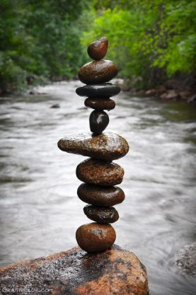 Balancing Stones by Michael Grab