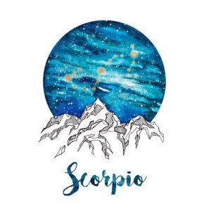 Scorpio Zodiac by PickledCherryblossom