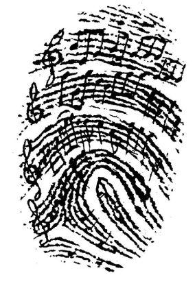 fingerprint song