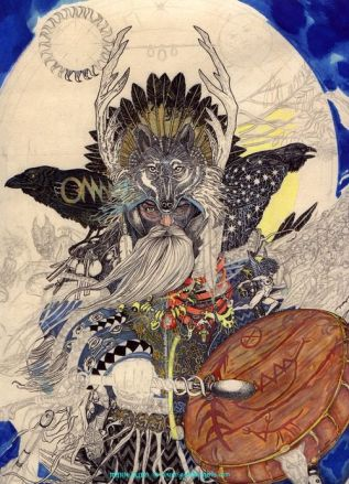 Shaman - artist unknown
