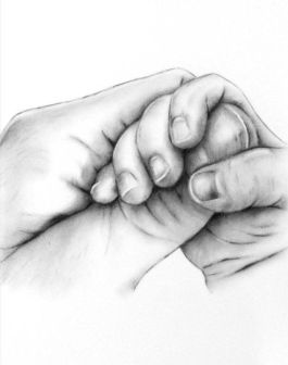 charcoal hands - unknown artist
