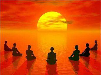 sun meditastion