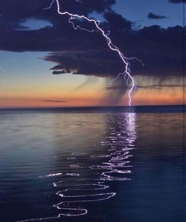 Lightning Strike - unknown artist