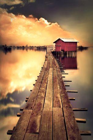 Boat Landing - Martha Suherman
