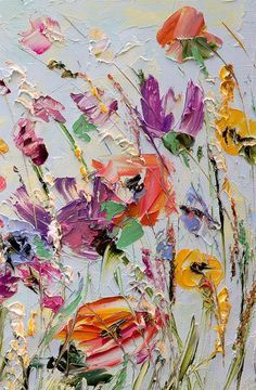 Marina Matkina - Oil Painting Flowers
