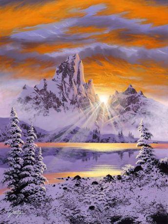 Unknown artist - winter secene