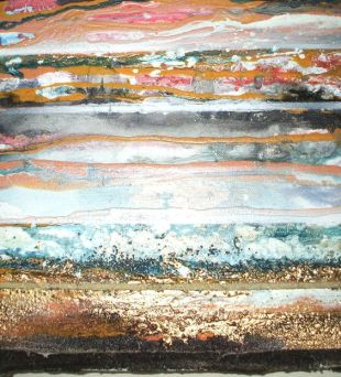 mike bell 2012, beach rhythms and textures no15