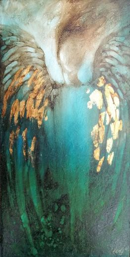 Angel Feathers - artist unknown