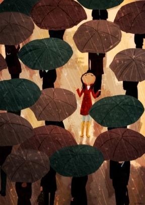 City in the rain - Nindhi Chanani