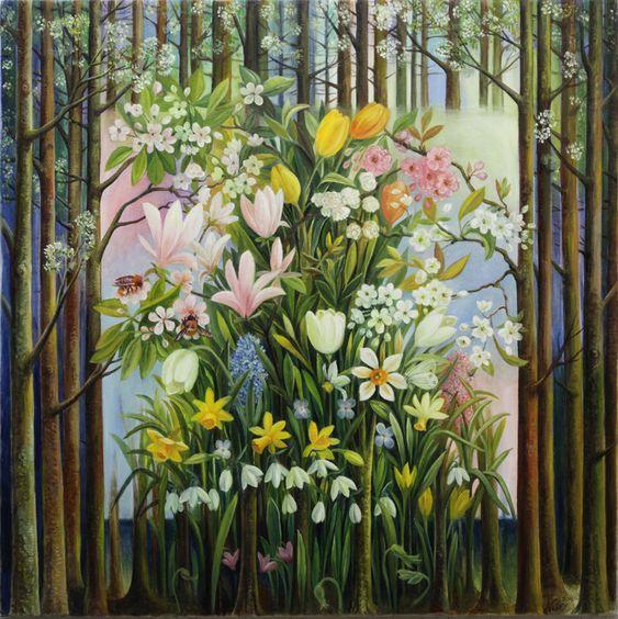 Nelly Tsenova -spring flowers