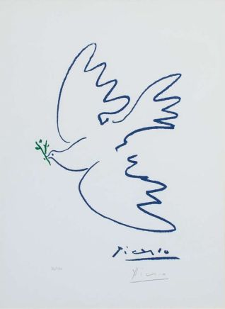 Picasso - Dove of Peace