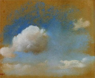 Edgar Degas - Cloud Study
