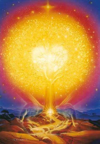 Golden heart tree