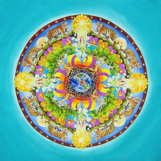 Release Mandala Art by Vikki Reed
