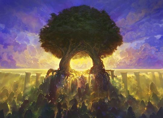 temple of mystery - Noah Bradley