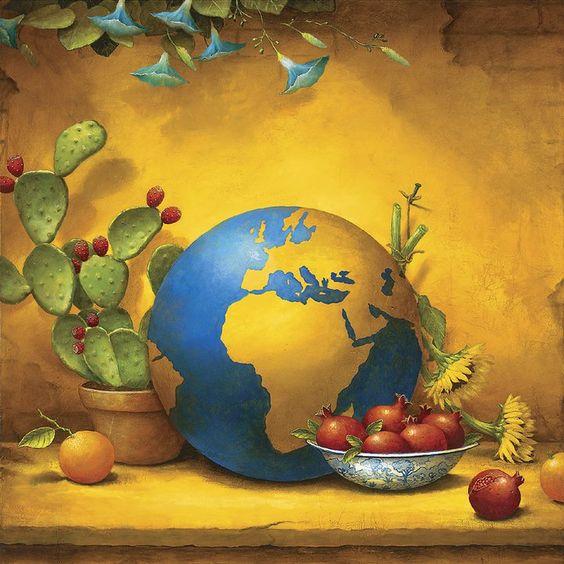 Kevin Sloan Art - Globe