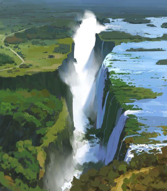 waterfall - o