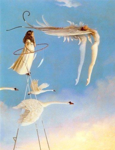 Swan Spirit - Michael Parkes